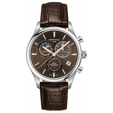 Pánské hodinky CERTINA DS-8 Chronograph Moon Phase C033.450.16.081.00
