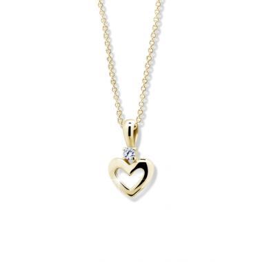 Zlatý přívěsek ZODIAX srdce C1603Y