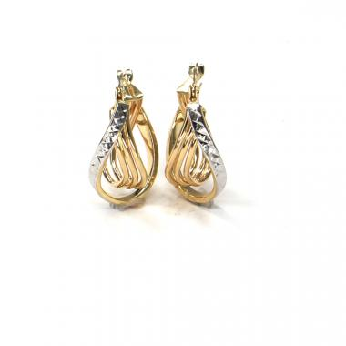 Náušnice ze žlutého zlata Pattic AU 585/000 2,05 gr ARP812304