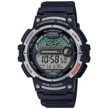 Pánské hodinky CASIO Collection Fishing Gear WS-1200H-1AVEF