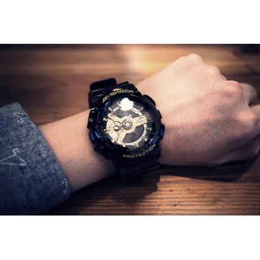 Pánské hodinky CASIO G-SHOCK GA-110GB-1A
