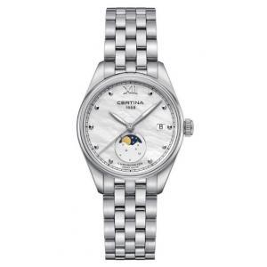 Dámské hodinky CERTINA DS-8 Moon Phase COSC Chronometr C033.257.11.118.00