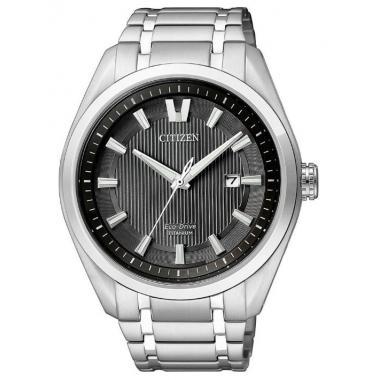 Pánské hodinky CITIZEN Titanium Eco-Drive AW1240-57E