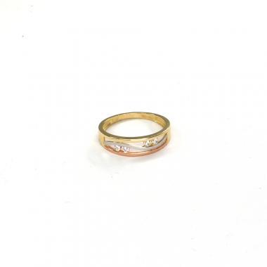 Prsten ze žlutého zlata Pattic AU 585/000 2,05 gr ARP567601-56
