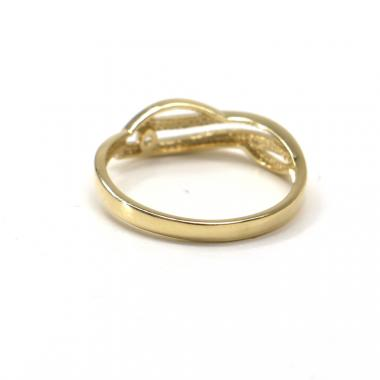 Prsten ze žlutého zlata Pattic AU 585/000 1,60 gr GU00701A se zirkonem