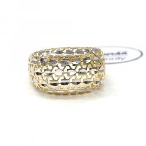 Prsten z žluto/bílého zlata Pattic AU 585/000 2,50 gr, Z439001