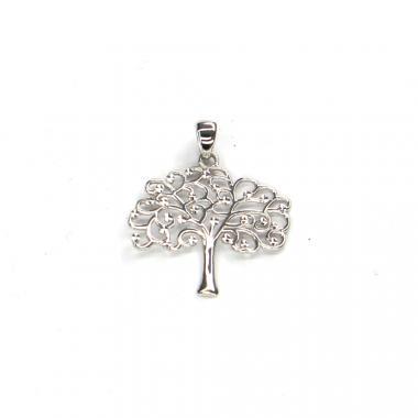 Príves z bieleho zlata strom života Pattic AU 585/000 1,00 gr ARP101005W