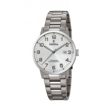 Pánské hodinky FESTINA Titanium Date 20435/1