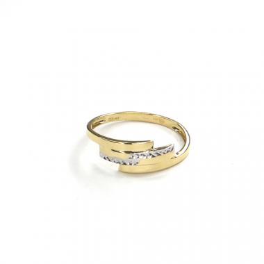 Prsten ze žlutého zlata Pattic AU 585/000 1,40 gr GURDD0118080401-59