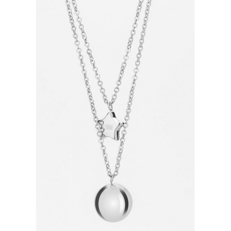 Náhrdelník STORM Carina Necklace Silver 9980840/S