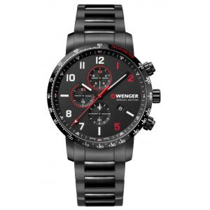 Pánské hodinky WENGER Attitude Chrono Special Edition 01.1543.125