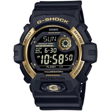 Pánské hodinky CASIO G-SHOCK Origina Black and Gold Series G-8900GB-1ER