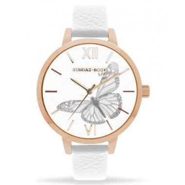 Dámske hodinky JVD Sunday Rose Vintage SUN-A04