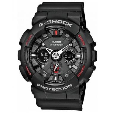 3D náhled. Pánské hodinky CASIO G-SHOCK GA-120-1A e57eb559ec