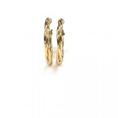 Náušnice ze žlutého zlata Pattic AU 585/000 1,80 gr ARP100404Y