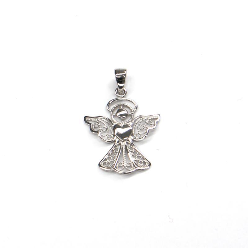 Príves z bieleho zlata anjel Pattic AU 585/000 1,00 gr ARP102305W