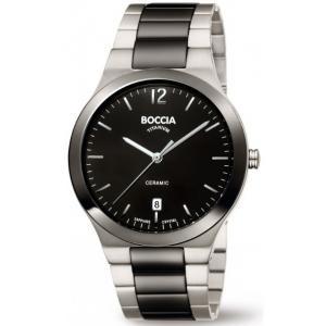 Pánské hodinky BOCCIA TITANIUM Ceramic 3598-01