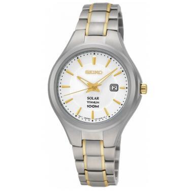 Dámské hodinky SEIKO Titanium Solar SUT203P1