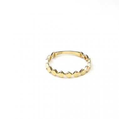Prsten ze žlutého zlata Pattic AU 585/000 1,20 gr ARP659301Y-55