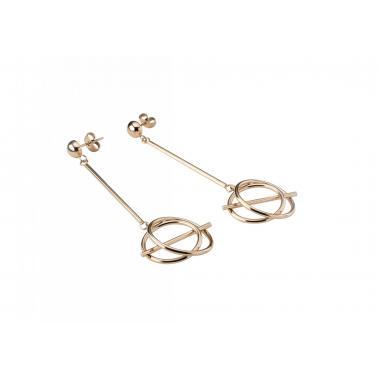 Náušnice STORM Serenitiy Earring - Rose Gold 9980879/RG