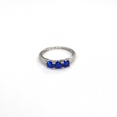 Prsten z bílého zlata Pattic AU 585/000 1,60 gr BV300101BLW-54