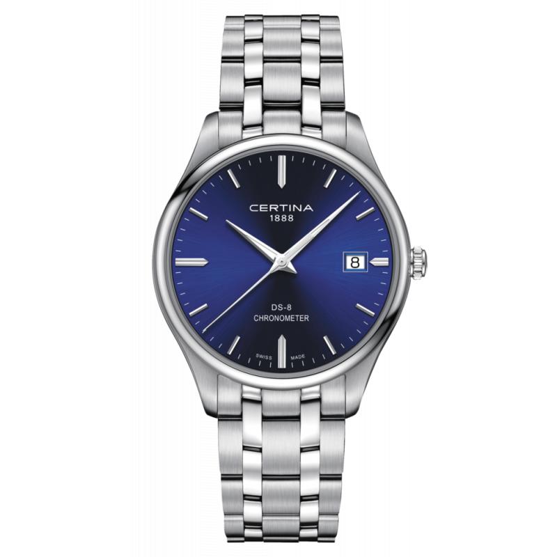 Pánské hodinky Certina DS-8 Quartz Precidrive COSC C033.451.11.041.00