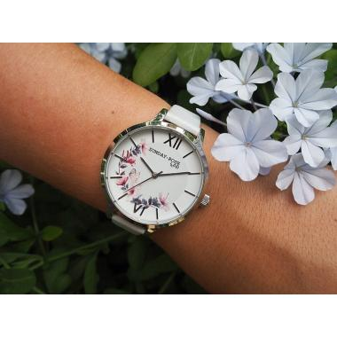 Dámské hodinky JVD Sunday Rose Spirit Wildflower SUN-S04