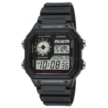 Pánské hodinky CASIO Collection AE-1200WH-1A