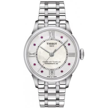 Dámske hodinky Tissot Chemin des Tourelles Powermatic 80 Lady T099.207.11.113.00
