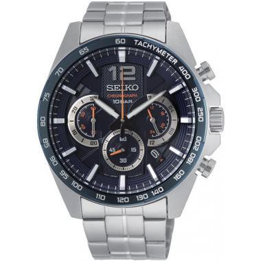 Pánske hodinky SEIKO Chronograph Quartz SSB345P1