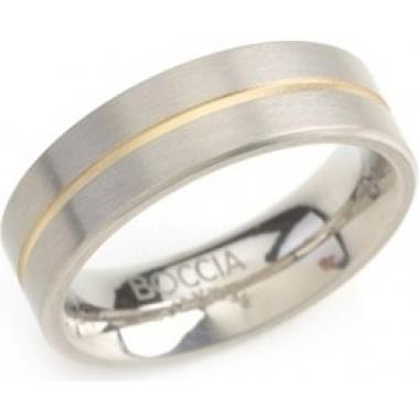 Snubní titanový prsten BOCCIA 0101-0361