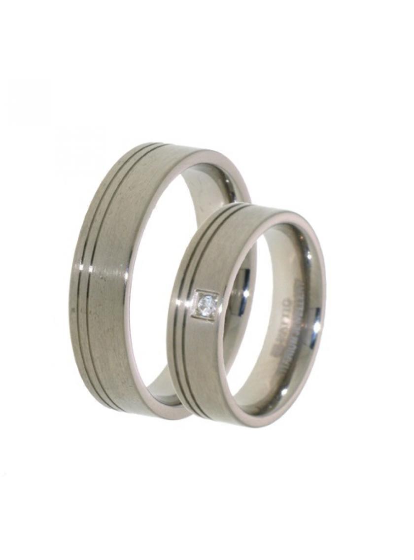 Titanový snubní prsten PATTIC PSTIR42401