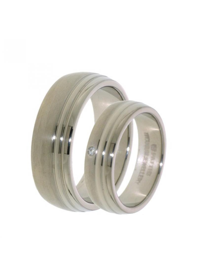 Titanový snubní prsten PATTIC PSTIR42601