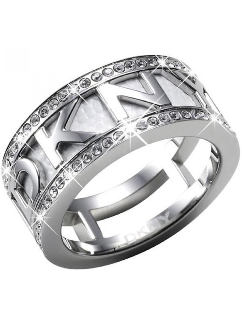Oceľový prsteň DKNY NJ1021040