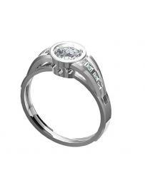 Zásnubní prsten HEJRAL Dianka 814