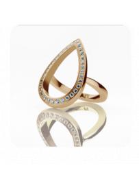 Prsten STORM Elipsia Ring - Rose Gold 9980626/RG/P