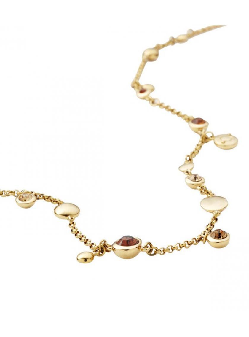 Oceľový zlacený náhrdelník DKNY NJ1701040