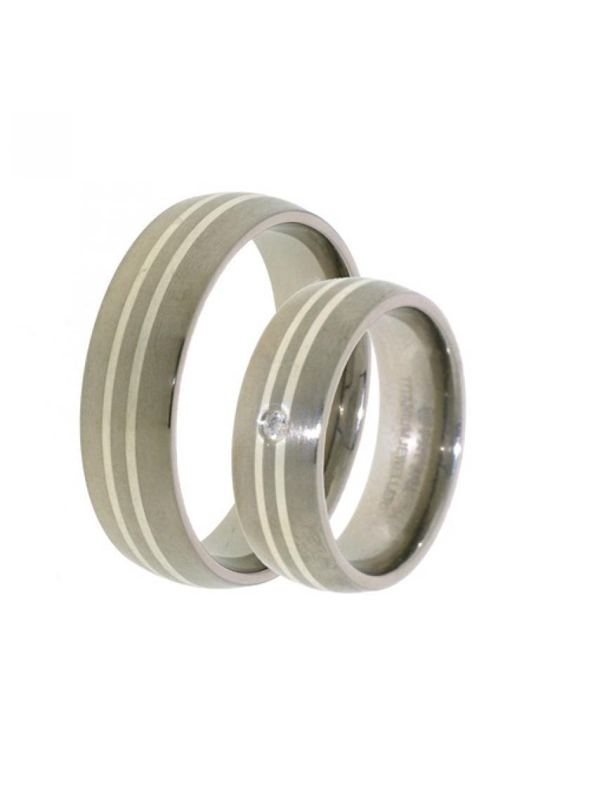 Titanový snubní prsten PATTIC PSTIR17801