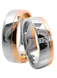 Snubní prsteny LAURA GOLD 614