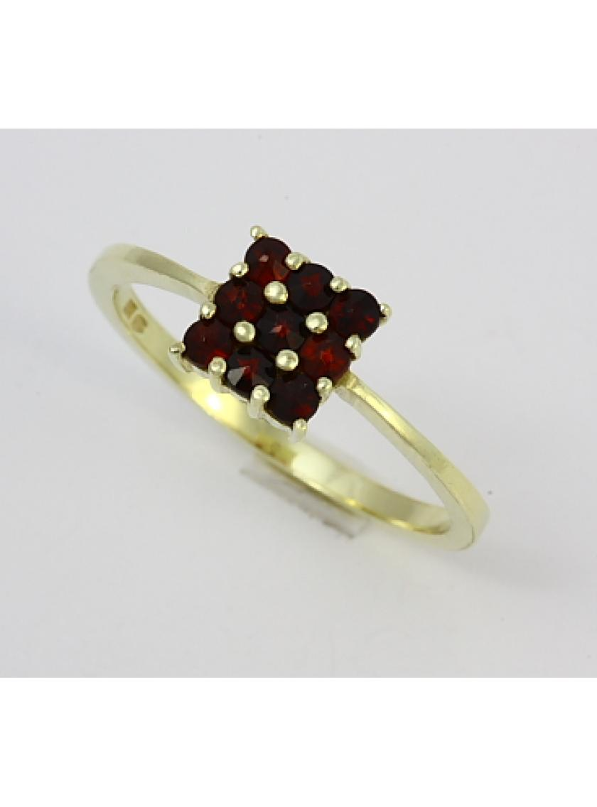 Zlatý prsten AU 585/000 SOLUNA 2;5gr 1-227-0052