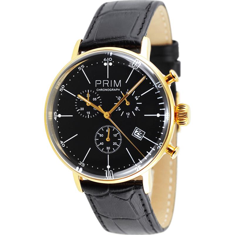 Pánské hodinky PRIM Vintage Klasik W01P.10223.C