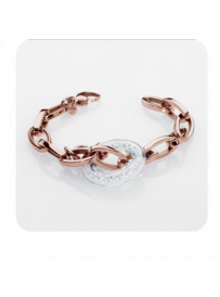Náramek STORM Crysta Loop Bracelet Rose Gold 9980605/RG