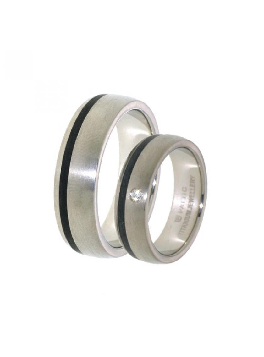 Titanový snubní prsten PATTIC PSTIR44601