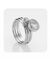 Prsten STORM Mimi Ring - Silver 9980673/S/M