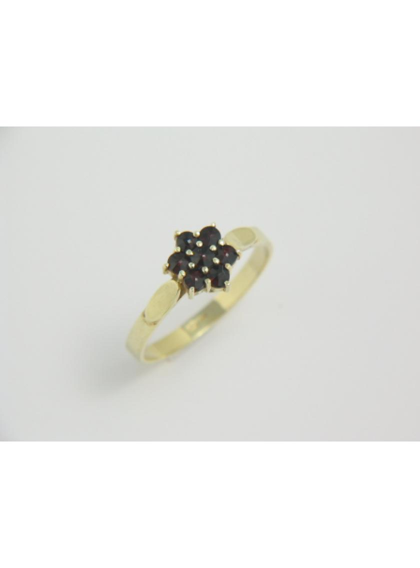Zlatý prsten AU 585/000 SOLUNA 2;5gr 1-227-0002