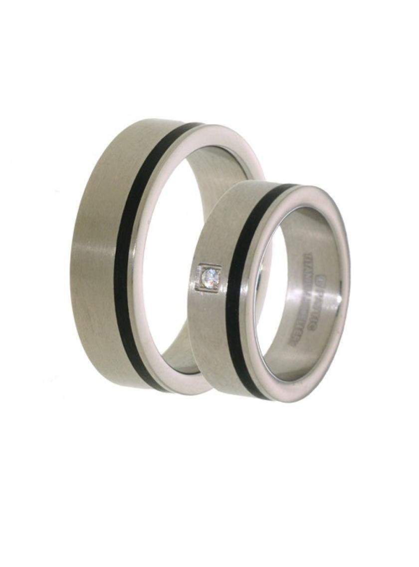 Titanový snubní prsten PATTIC PSTIR45201