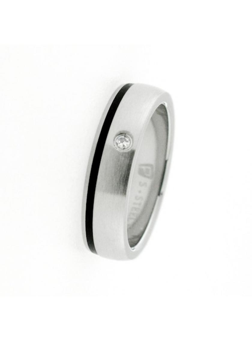 Prsten z chirurgické oceli PATTIC PSTR44601