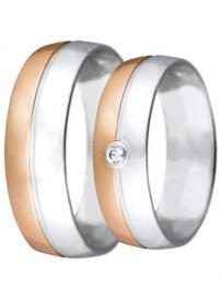 Snubní prsten HEJRAL Viola 23