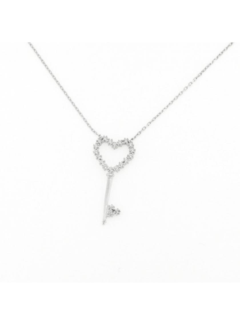 Stříbrný náhrdelník PATTIC s kameny IPT19002