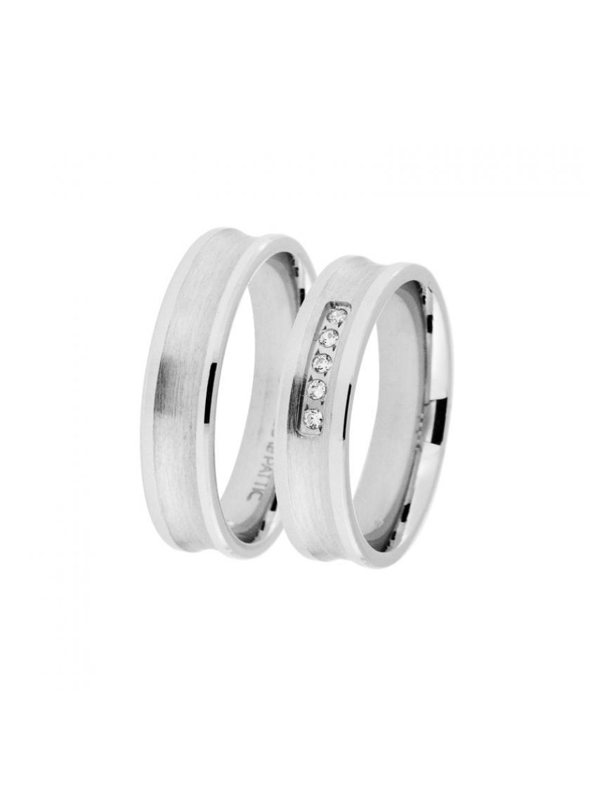 Stříbrný snubní prsten PATTIC CAF-T0962